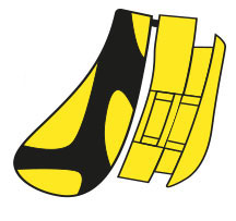 Rudy Project Tralyx Nasenpad & Halter Yellow/Black/Yellow