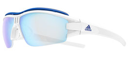 Adidas Evil Eye Halfrim Pro White Shiny - Vario Blue Mirror
