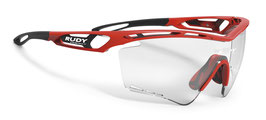Traylx XL Fire Red Gloss ImpactX Photochromic 2Black
