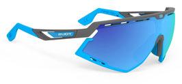 Rudy Project Defender Pyombo Matt -Multilaser Blue