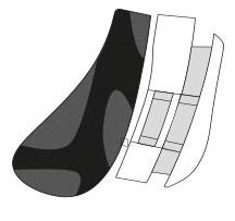 Rudy Project Tralyx Nasenpad & Halter White/Black/White