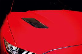 Mustang Carbon Luftauslass Cover Satz L/R