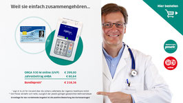 Kooperationsangebot 1 (ORGA 930 M online plus eHBA)