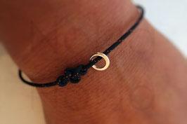[P+K]  2.O Infinity-Knoten Armband mit 1 XXS Circle of Life