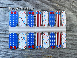 Red White & Bow