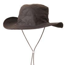 Chapeau huilé, marron
