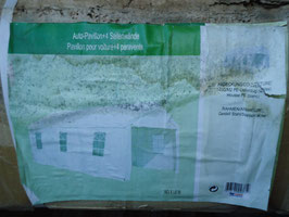 Zelt, Autopavillion| Feste feiern| 3x6 Meter