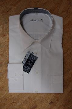 Ahlemeyer | Langarm Business-Hemd | Normalschnitt | extra kurze Ärmel