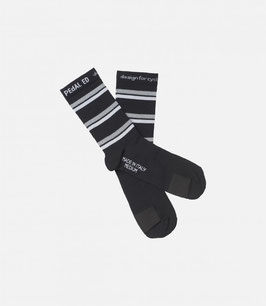 PEDALED REFLECTIVE SOCKS THREE STRIPES