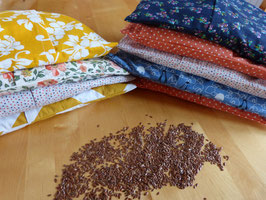 Bouillotte sèche aux graines de lin
