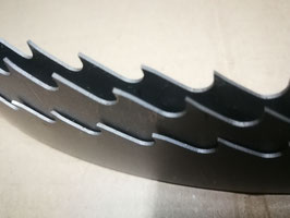 5430x34x0,9 - Lama a nastro bimetallica per legno - Linea professionale - Elevate prestazioni di taglio