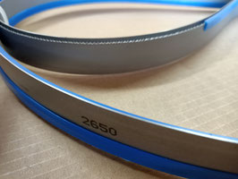 2650x27x0,90 - Lame a nastro bimetalliche per il taglio del ferro - Linea professionale - Elevate prestazioni di taglio