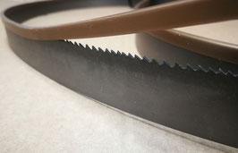 2490x27x0,90 - N°2 lame a nastro bimetalliche per il taglio del ferro e dell'acciaio - Linea professionale - Elevate prestazioni di taglio