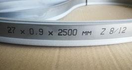 2500x27x0,90 - Lame a nastro bimetalliche per il taglio del ferro - Linea professionale - Elevate prestazioni di taglio