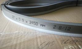 2450x27x0,90 - N°2 lame a nastro bimetalliche per il taglio del ferro - Linea professionale - Elevate prestazioni di taglio