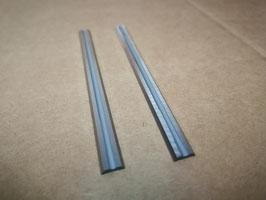 82X5.5X1.1 - N°2 Coltelli reversibili al widia - Per pialle portatili elettriche - Linea professionale
