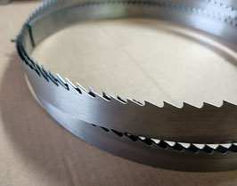 4650x30x0,7 - Lama a nastro in acciaio per legno - Linea professionale