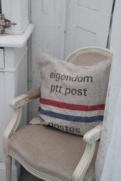 Kissen aus einem alten Postsack * Brocante * Shabby Chic * Industrie Style
