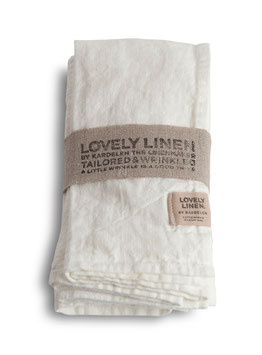 Lovely Linen Off- White
