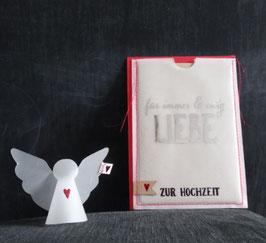 """Engel in der Tüte """"Zur Hochzeit"""""""