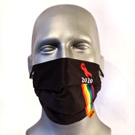 """Mund-Nasenbedeckung """"WeltAidsTag2020"""""""