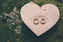 Ringschale Herz