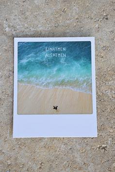 Polaroidkarte | Einatmen