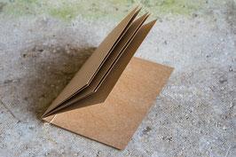 Klappkarte | Kraftpapier