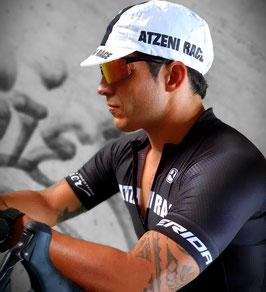 Atzeni Race Cycling Cap white