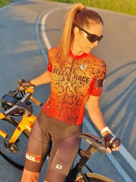 Atzeni Race KA Snake Racesuit 21/22 rot/orange/schwarz