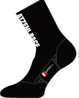 Atzeni Race Socks black (WOMAN/MAN)