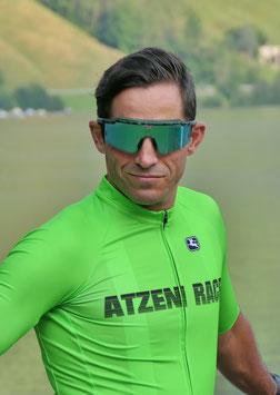 ATZENI RACE Man Jersey - neongrün