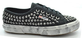 Superga 2750 STUDSW Black-Silver