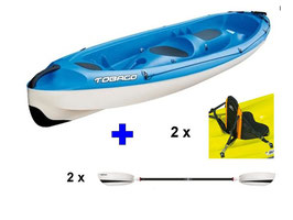 KIT CANOA TOBAGO BLU RIGIDA