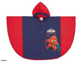 MANTELLINA IMPERMEABILE PONCHO SPIDERMAN