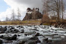 """Bild """"Emme und Schloss Burgdorf"""""""