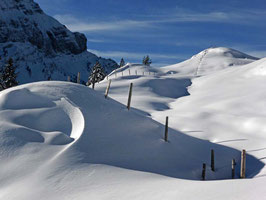Einfache Tages-Schneeschuhtour Eigenthal