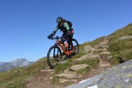 Alpencross Bikewoche St. Moritz-Zermatt Teil 1 von 2: September 2019 (schön war`s - schon vorbei)