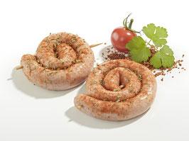 Kikok Bratwurstschnecken