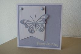 Happy Birthday - Schmetterling