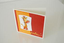 Giraffe - Congrats