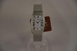 Uhren Wolf Damenarmbanduhr Weißgold