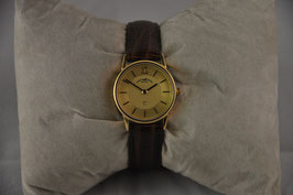 Uhren Wolf Damenarmbanduhr Gelbgold