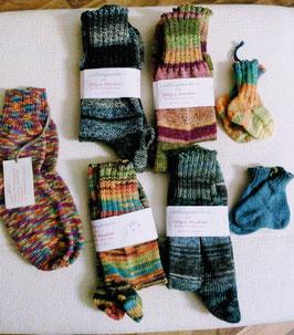 Socken, in allen gängigen Grössen,