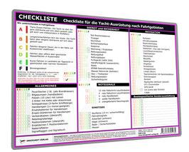 Checkliste Yachtausrüstung