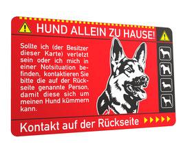 Notfallkarte Hund