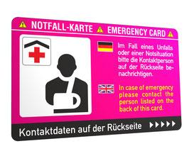 Notfallkarte