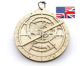 Bausatz Astrolabium (Englische Version)
