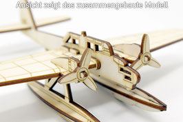 Laubsägevorlage Wasserflugzeug