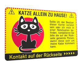 Notfallkarte Katze